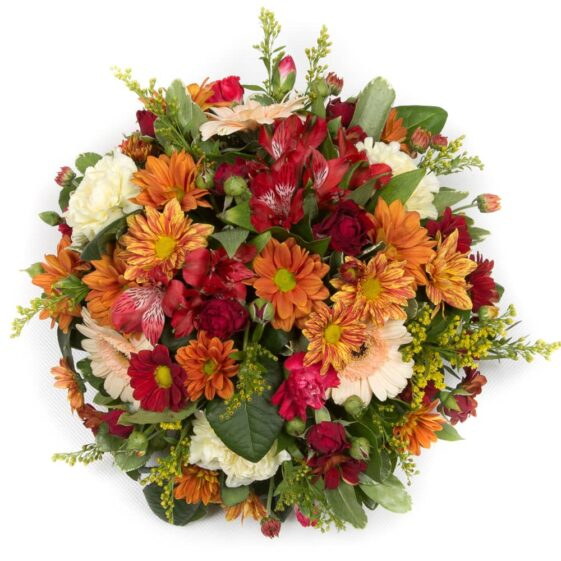 Autumnal Posy flowers